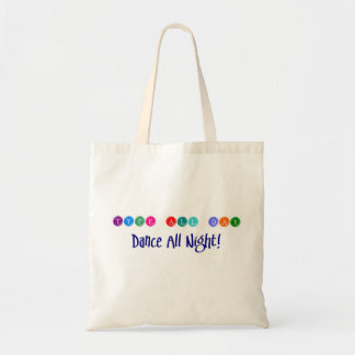Dancing Writer sustainability tote Budget Tote Bag