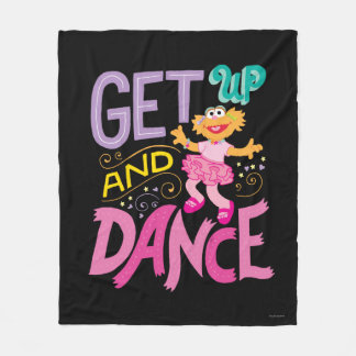 Dancing Zoe Fleece Blanket