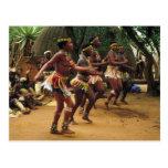 Dancing, Zulu Style - South Africa