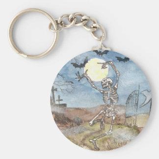 dancingskeleton key chain