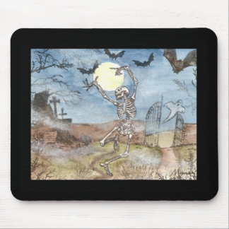 dancingskeleton mouse pads