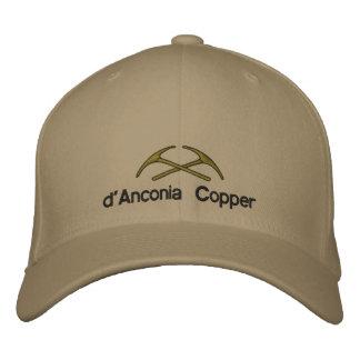 d'Anconia Copper Embroidered Cap