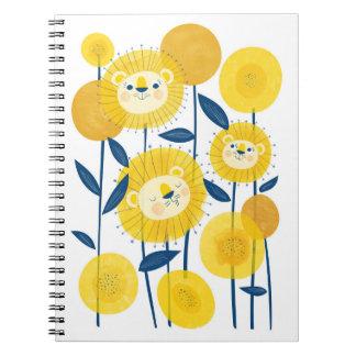 """Dande""""lion"""" Spiral Notebook"""
