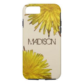 Dandelion 1   Typography ifon87 Cool Wildflower iPhone 8/7 Case