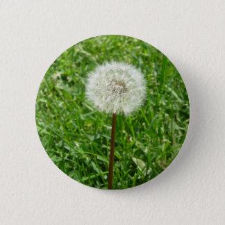 Dandelion 6 Cm Round Badge