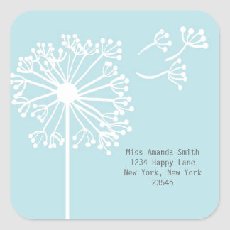 Dandelion Address Stickers