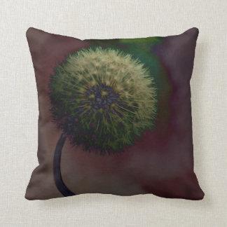 Dandelion American Mo-Jo Throw Pillow Cushions
