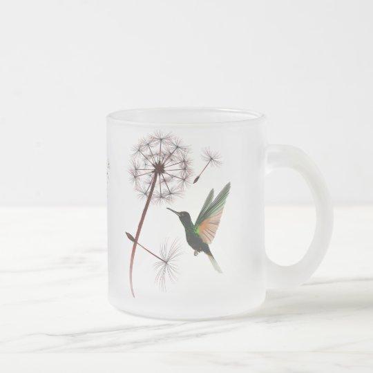 Dandelion and Hummingbird Mug