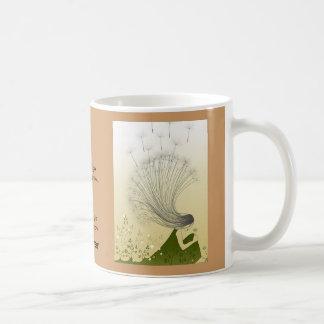 dandelion art work, The Official Military Brat ... Basic White Mug