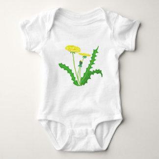 dandelion baby bodysuit