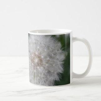 Dandelion Basic White Mug