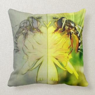 Dandelion Bee Cushion