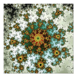Dandelion Bloom - oriental fractal design Photograph