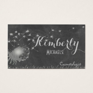 Dandelion Blowing in the Wind Business Card