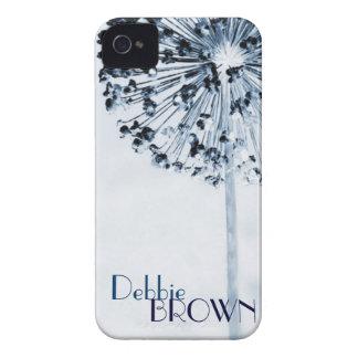 Dandelion Blue iPhone 4 Case-Mate Case