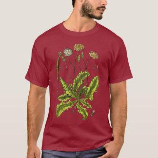 Dandelion Botanical Illustration T-Shirt