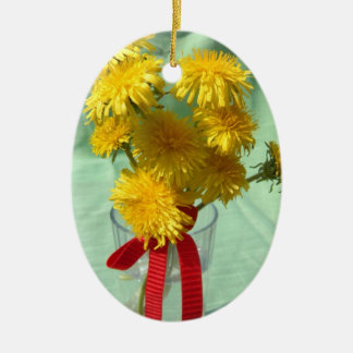 Dandelion Bouquet Christmas Ornament