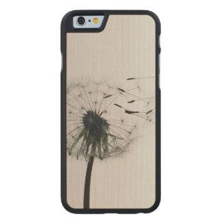 Dandelion Carved® Maple iPhone 6 Slim Case