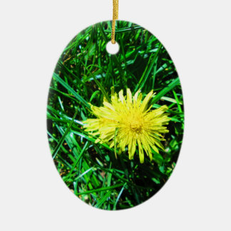 Dandelion Christmas Ornament
