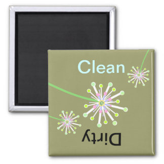 Dandelion Clean/Dirty Dishwasher Magnet