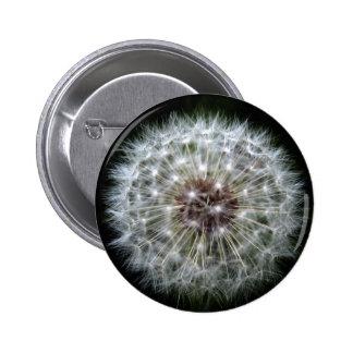 Dandelion Clock badge/button 6 Cm Round Badge