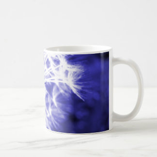 Dandelion Clock Blue Mug