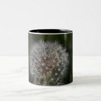 Dandelion Clock Flower Mug