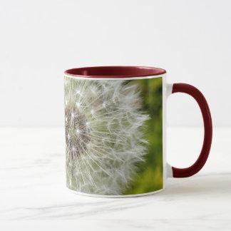 dandelion clock mug