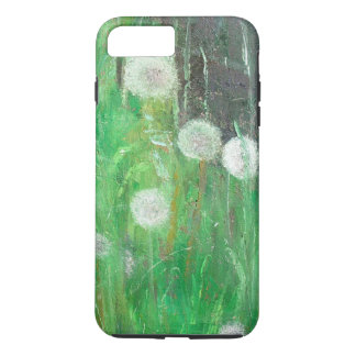 Dandelion Clocks in Grass 2008 oil on canvas iPhone 8 Plus/7 Plus Case