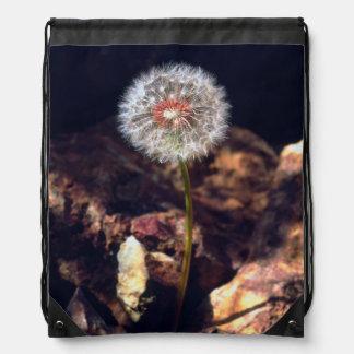 Dandelion Drawstring Bag