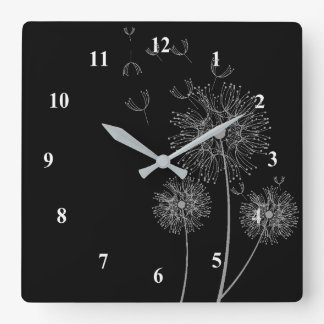 Dandelion  flower clock