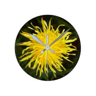 Dandelion Flower Wallclock