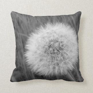 Dandelion Fluff Throw Pillow