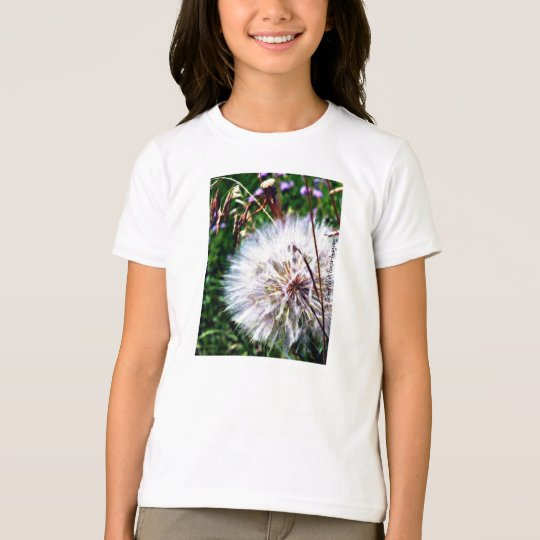 dandelion girl's t-shirt