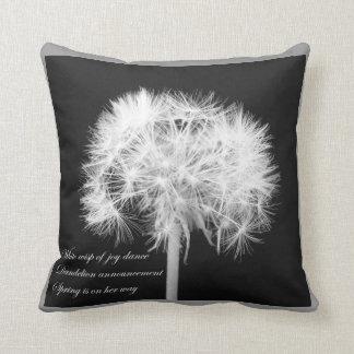 Dandelion Haiku American MoJo Pillow
