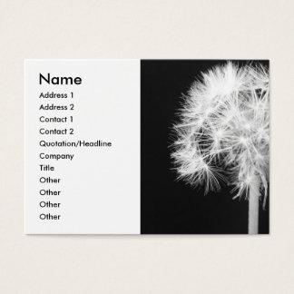 Dandelion Haiku Business Card