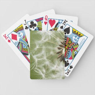 Dandelion Head Poker Deck