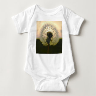 dandelion in the sun baby bodysuit
