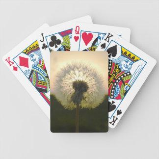dandelion in the sun poker deck