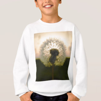 dandelion in the sun sweatshirt