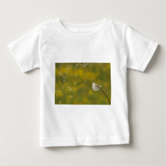 Dandelion in the wind baby T-Shirt