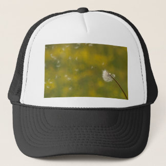 Dandelion in the wind trucker hat