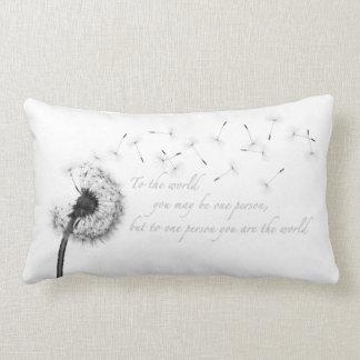 Dandelion Inspiration Lumbar Pillow