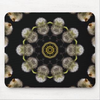 Dandelion Kaleidoscope Mousepad