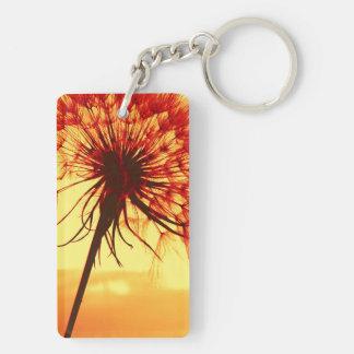 dandelion key ring