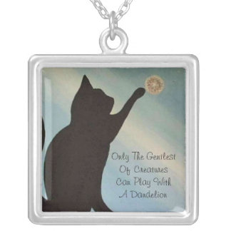 Dandelion Kisses Necklace - Cat