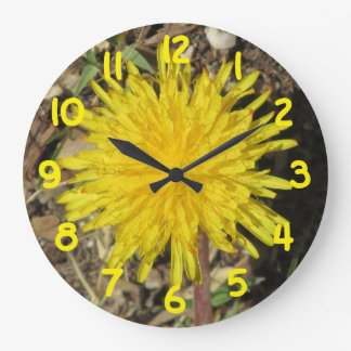Dandelion Large Clock
