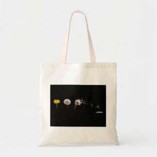 Dandelion Life Cycle Budget Tote Tote Bags