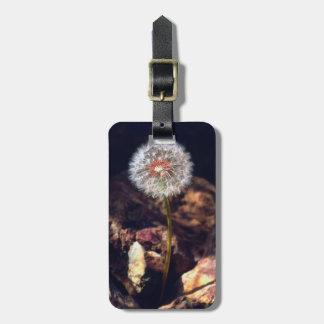 Dandelion Luggage Tag