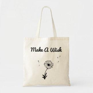 Dandelion Make A Wish Bag